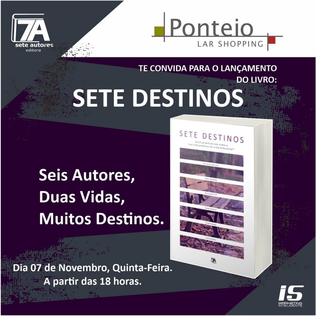 Livro Sete Destinos